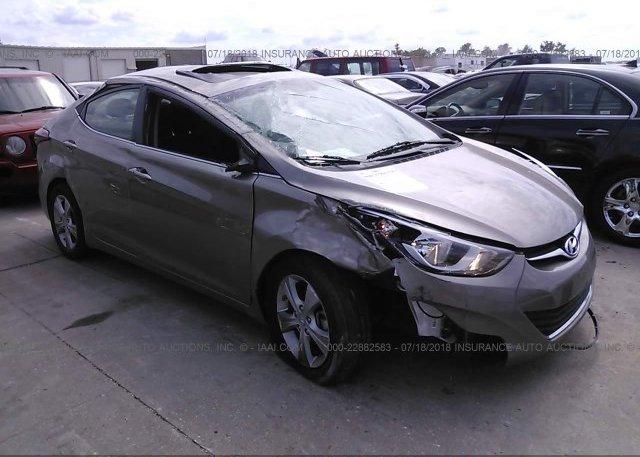 Inventory #537575423 2016 Hyundai ELANTRA
