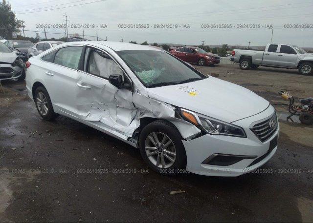 Inventory #309303434 2017 Hyundai SONATA