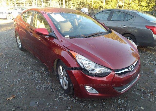 Inventory #612236031 2013 Hyundai ELANTRA