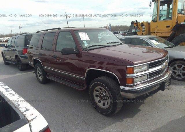 Inventory #640936442 1999 Chevrolet TAHOE
