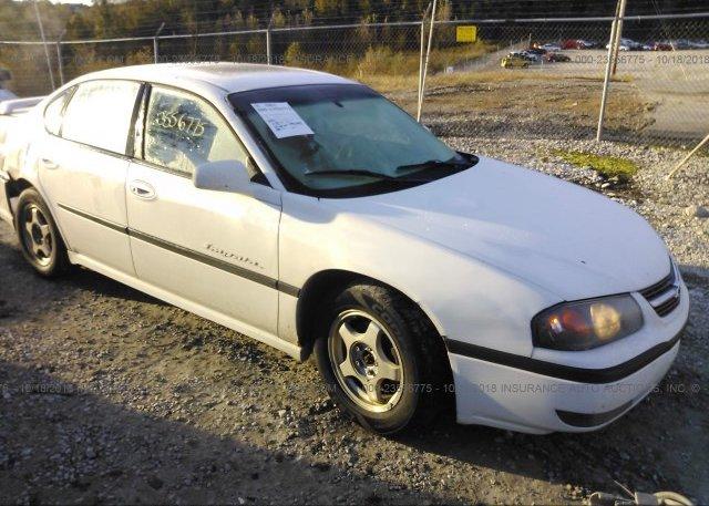 Inventory #370621108 2001 Chevrolet IMPALA