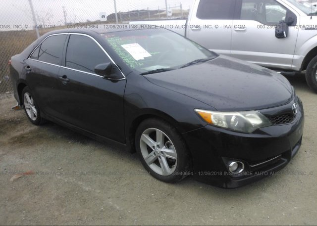 4t1bf1fk9cu176575 Original Black Toyota Camry At Justin Tx On