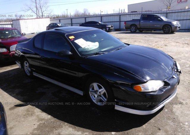 Inventory #701712486 2001 Chevrolet MONTE CARLO