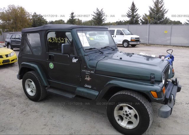 Inventory #842787953 2000 JEEP WRANGLER / TJ