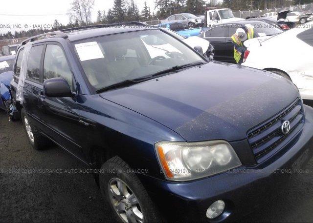 Inventory #335816990 2002 Toyota HIGHLANDER