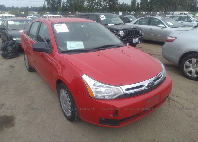 2008 Ford Focus For Sale >> 1fahp34n68w206900 Bill Of Sale Red Ford Focus At Puyallup
