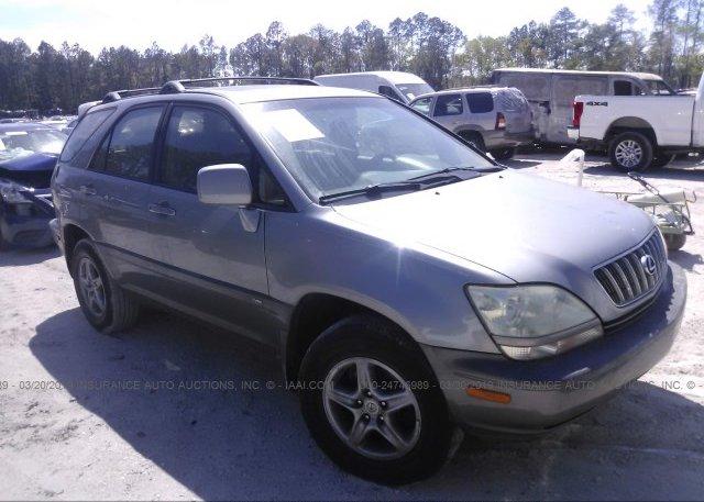 Inventory #900448055 2002 Lexus RX
