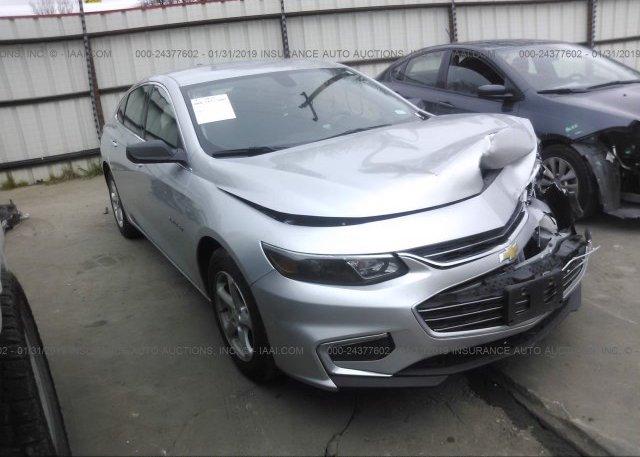 Inventory #845557697 2018 Chevrolet MALIBU
