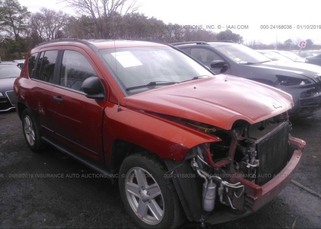 Inventory #208223481 2008 JEEP COMPASS