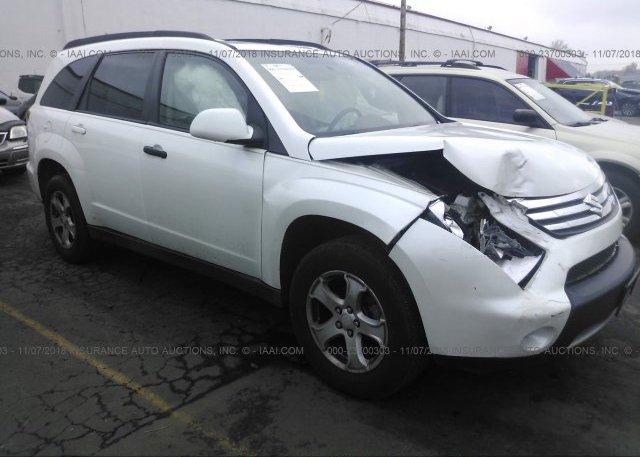 2s3da417686113098 Salvage White Suzuki Xl7 At Portland Or On