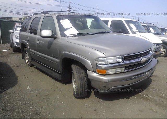 Inventory #583034480 2001 Chevrolet TAHOE