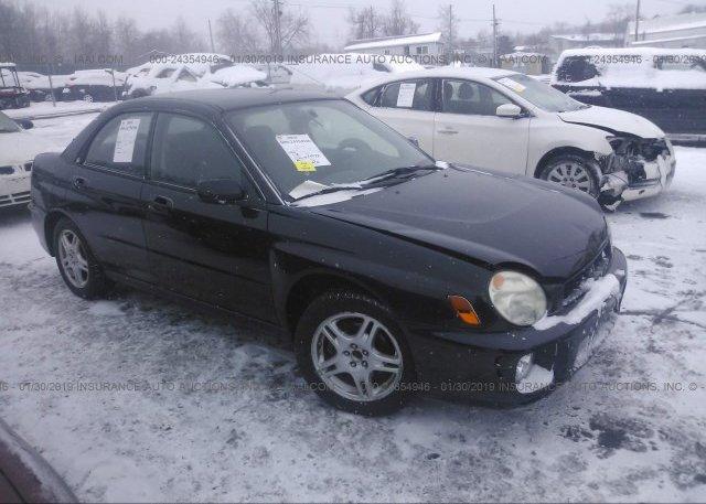 Inventory #167028123 2002 Subaru IMPREZA