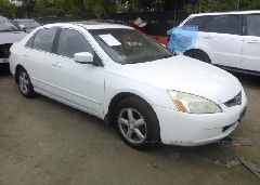 2004 Honda ACCORD - 1HGCM56854A026798 Left View