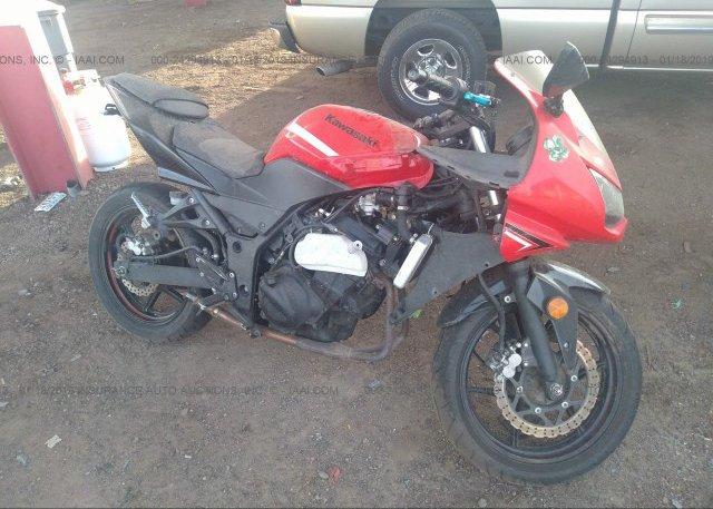 Inventory #208261665 2012 Kawasaki EX250
