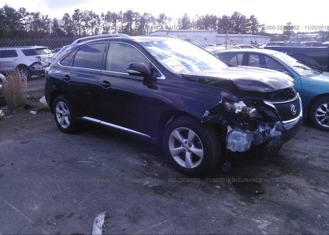 Inventory #765788167 2011 Lexus RX
