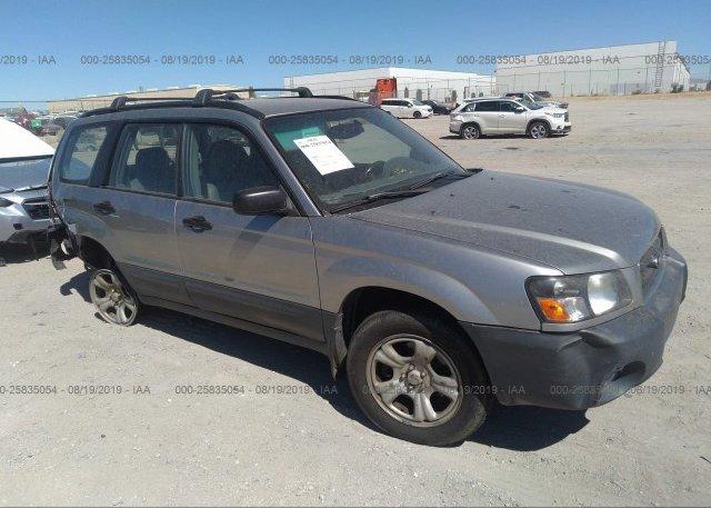 Inventory #385884003 2005 Subaru FORESTER