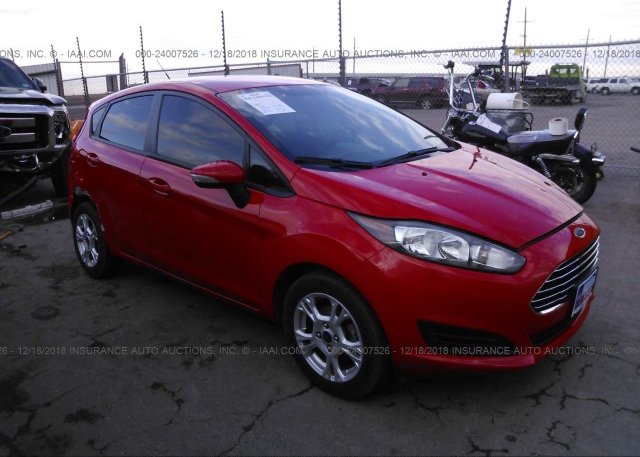 Inventory #917358128 2014 FORD FIESTA