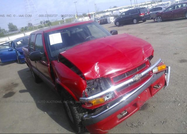 Inventory #800353715 2002 Chevrolet S TRUCK