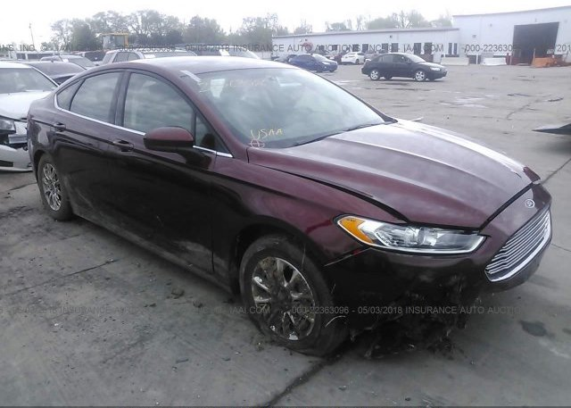 Inventory #280716052 2015 FORD FUSION