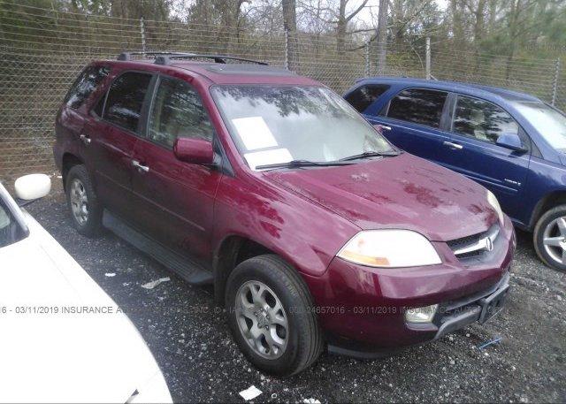 Inventory #342610631 2002 Acura MDX