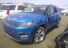 2019 JEEP COMPASS - 3C4NJDCB0KT800844 Right View