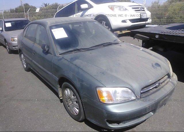 Inventory #860565017 2001 Subaru LEGACY