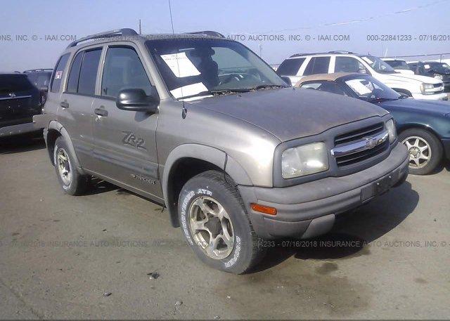 Inventory #804217151 2003 Chevrolet TRACKER
