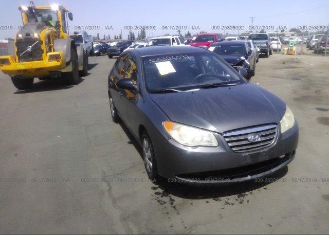 Inventory #856233600 2008 Hyundai ELANTRA