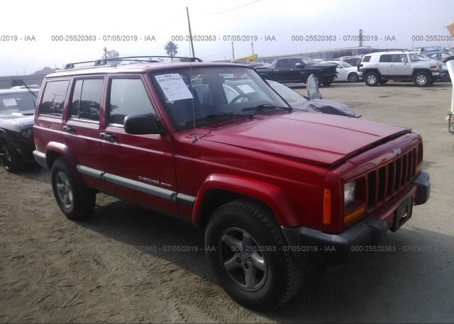 Inventory #714201882 2001 JEEP CHEROKEE
