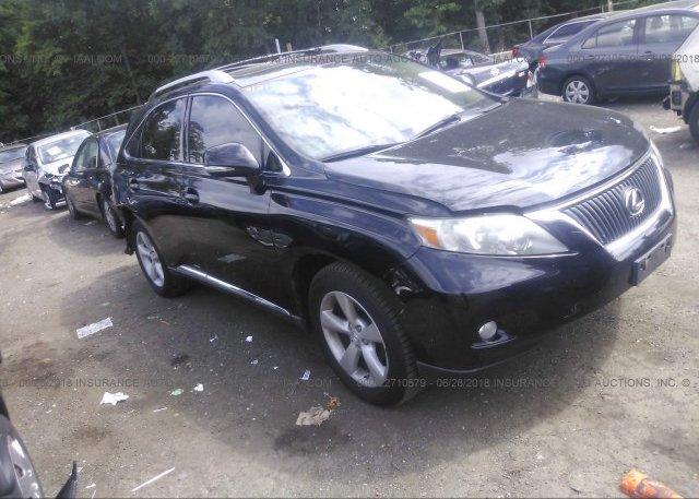 Inventory #250230013 2010 Lexus RX
