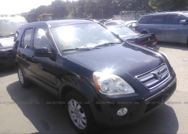 Inventory #986342115 2006 Honda CR-V