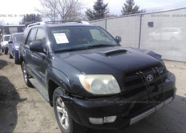 Inventory #401024758 2004 Toyota 4RUNNER