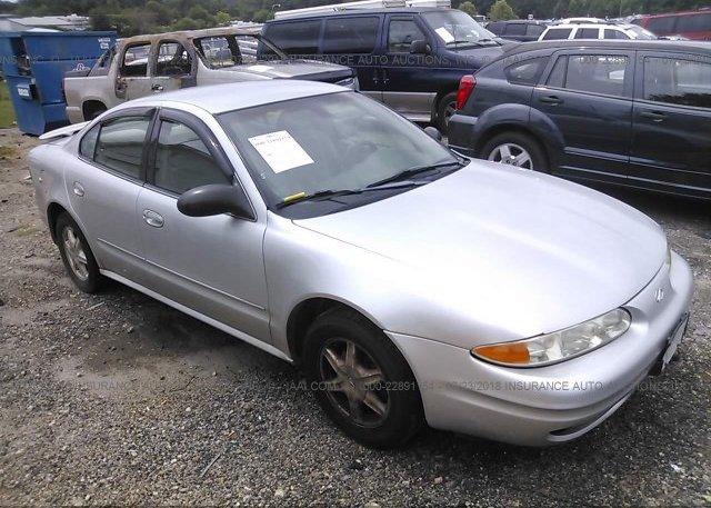 1g3nl52ex3c228142 Salvage Blue Oldsmobile Alero At Simpsonville Sc