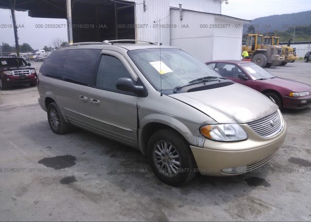 Inventory #832934503 2002 Chrysler TOWN & COUNTRY