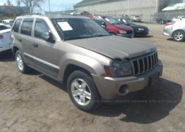 Inventory #682622415 2006 Jeep GRAND CHEROKEE