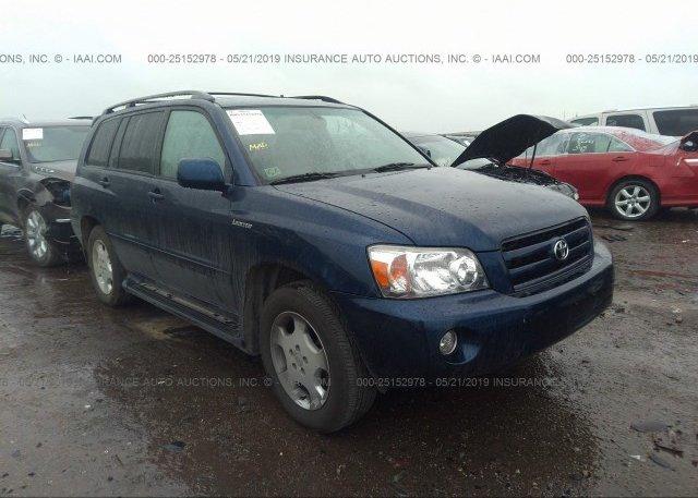 Inventory #106018942 2005 Toyota HIGHLANDER