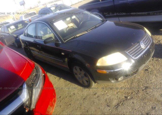 Inventory #129643975 2002 Volkswagen PASSAT
