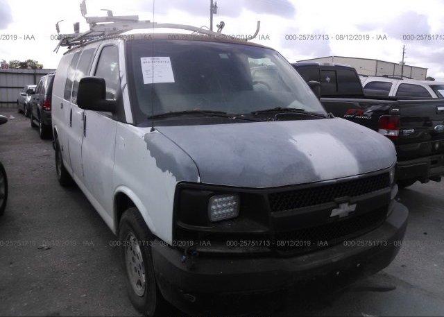 Inventory #157995401 2007 Chevrolet EXPRESS G1500