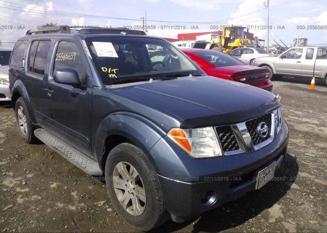 Inventory #530761555 2006 Nissan PATHFINDER