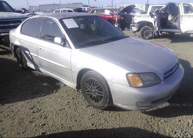 Inventory #838522020 2002 Subaru LEGACY