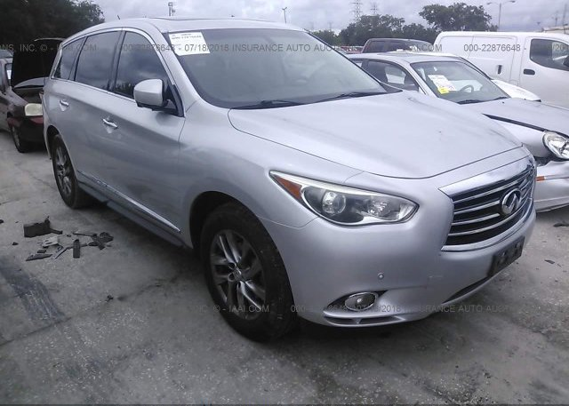 5n1al0mn8dc305523 Rebuildable Silver Infiniti Jx35 At Clearwater