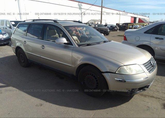 Inventory #169361209 2004 Volkswagen PASSAT