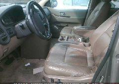 2003 KIA SEDONA - KNDUP131536461073 rear view