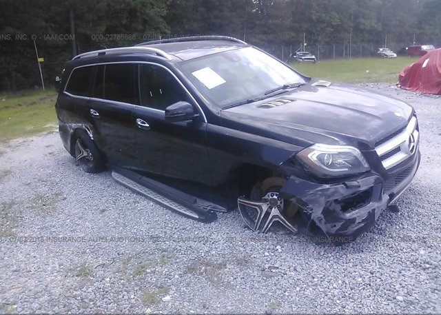 Bidding Ended On 4jgdf7ce5da250765 Salvage Mercedes Benz Gl At