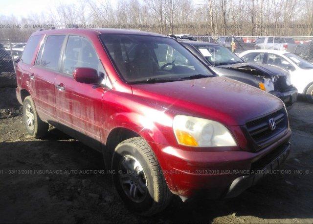Inventory #122070354 2005 Honda PILOT