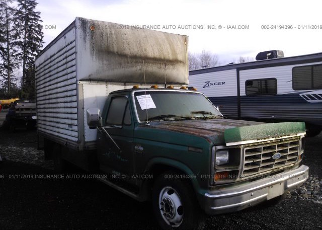 Inventory #319987107 1986 FORD F350