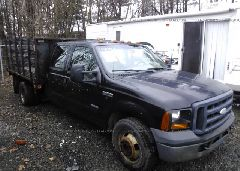 2007 FORD F350 - 1FDWW36P67EB50704 Left View