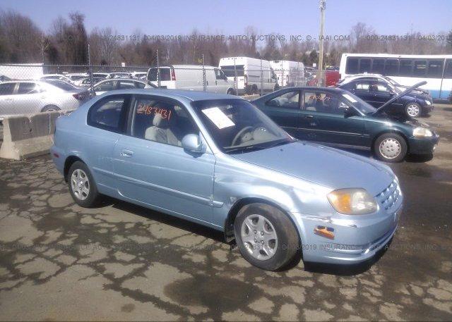Inventory #541651845 2005 Hyundai ACCENT