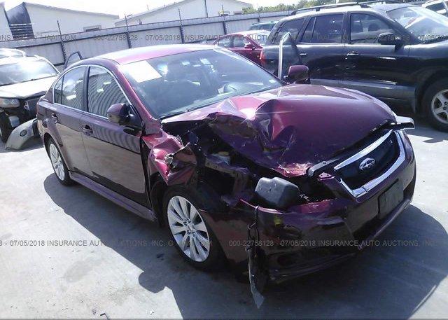 Inventory #172605626 2012 Subaru LEGACY