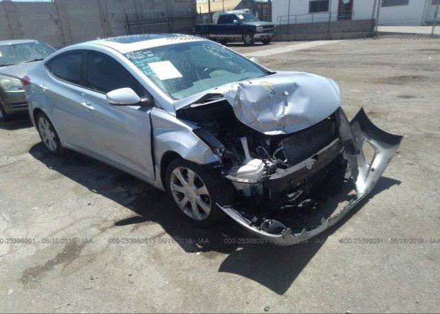 Inventory #455021966 2012 Hyundai ELANTRA
